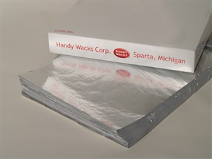 Handy Wacks Foil Laminated Sandwich Wrap - 10.5 in. x 14 in.