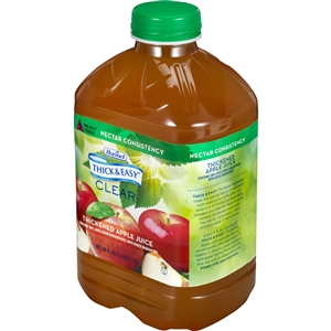 Hormel Thick and Easy Apple Drink Plastic Jug - 48 Oz.