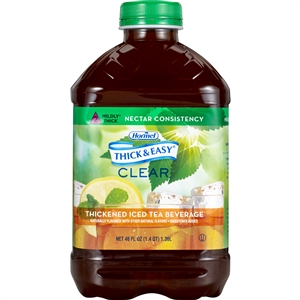 Hormel Thick and Easy Drink Iced Tea Nectar Consistency - 48 Oz.