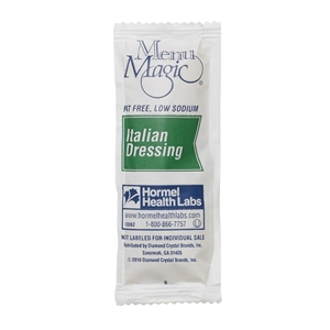 Menu Magic Condiments Italian Dressing Portion Pack - 12 Grm.