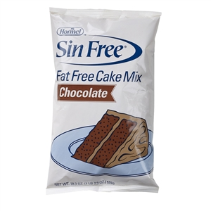 Sin Free Fat Free Chocolate Cake Mix - 18.3 oz.
