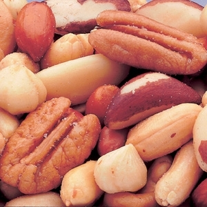 Azar Party Choice 50 Percentage Peanuts 5 Pound Mixed Nuts