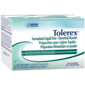 Tolerex Maintenance Elemental Diet Powder Packet - 2.82 oz.