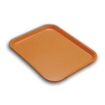 Serving Solutions Fast Food Tray Orange - 10 in. x 14 in.