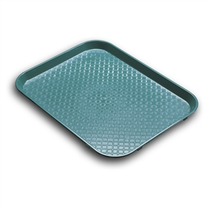 Serving Solutions Fast Food Tray Teal - 10 in. x 14 in.