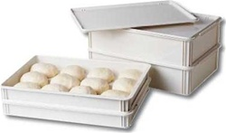 Cambro Dough Pizza Box White 18 in. x 26 in. x 3 in.
