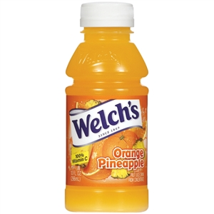Welchs Plastic Orange Pineapple Drink - 10 Oz.