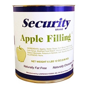 Lawrence Foods Security Apple Filling