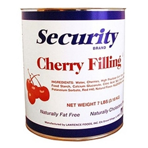 Lawrence Foods Security Cherry Filling