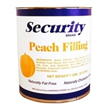 Lawrence Foods Security Peach Filling - 10 Can