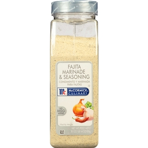 McCormick Spice Fajita Marinade and Seasoning 30 oz.