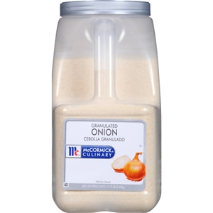 McCormick Onion Granulated 5.75 Pound Seasoning