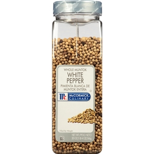 McCormick White Whole Pepper 20 oz.