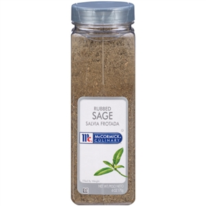 McCormick Herb Rubbed Sage 6 oz.