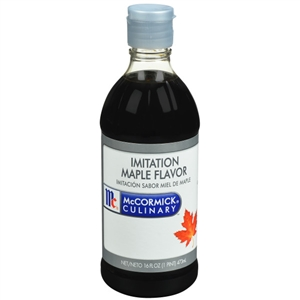 McCormick Imitation 1 Pint Maple Extract