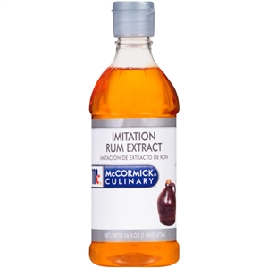 McCormick Imitation 1 Pint Rum Extract