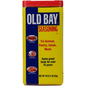 McCormick Old Bay No Msg 16 oz. Seasoning Tins
