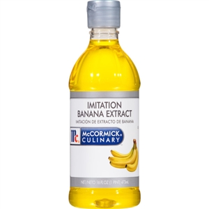 McCormick Imitation Banana Flavor 1 Pint Extract