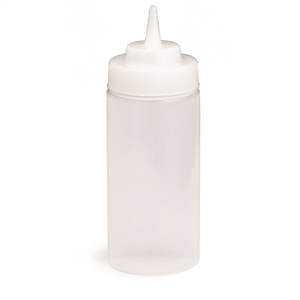 Tablecraft Natural Wide Mouth Dispenser - 16 Oz.