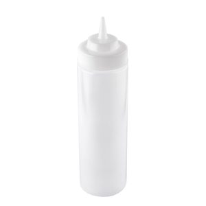 Tablecraft Natural Wide Mouth Dispenser - 24 Oz.