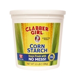 Clabber Girl Corn Starch Tub - 3.5 Lb.
