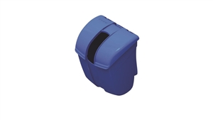 San Jamar Katchall Safe Tub Scoop Caddy Blue