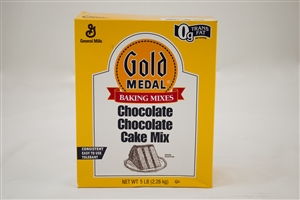 General Mills Gold Medal Chocolate Chocolate Cake Mixes - 5 Lb.