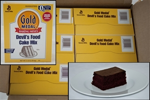 General Mills Gold Medal Devils Food Cake Mixes - 5 Lb.
