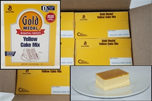 General Mills Gold Medal Cake Mixes Yellow - 5 Lb.