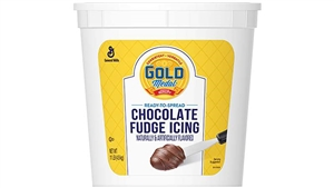 General Mills Gold Medal Icing Chocolate Fudge Ready To Serve - 11 Lb.