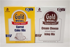 General Mills Gold Medal Carrot Cake Cream Cheese Icing - 4.96 Lb.