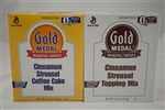 General Mills Gold Medal Cinnamon Streusel Coffee Cake - 4.66 Lb.