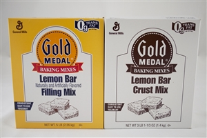 General Mills Gold Medal Lemon Bar Mix - 4.1 Lb.