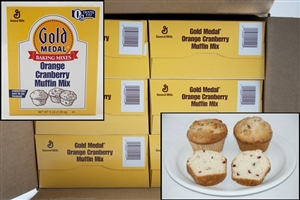 General Mills Gold Medal Orange Cranberry Muffin Mix - 5 Lb.