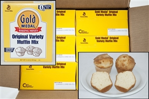 General Mills Gold Medal Original Variety Muffin Mix - 5 Lb.