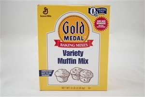 General Mills Gold Medal Variety Muffin Mix - 5 Lb.