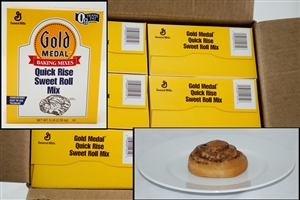 General Mills Gold Medal Quick Rise Sweet Roll Yeast Mix - 5 Lb.
