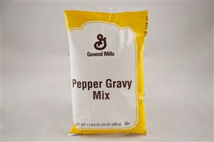 General Mills Value Pepper Biscuit Gravy Mix - 1.5 Lb.