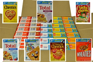 General Mills Family Assorted Cereal Single Pack - 0.85 Oz.