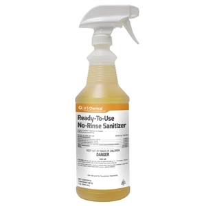 U.S.C. Ready To Use No Rinse Sanitizer - 1 Qt.