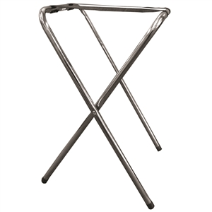 Tablecraft Metal Single Bar Tray Stand - 29.5 in.