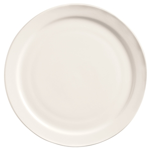 World Tableware Narrow Rim Porcelana Undecorated Plate - 6.5 in.
