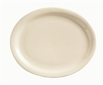 World Tableware Kingsmen Undecorated White Platter - 11.5 in.