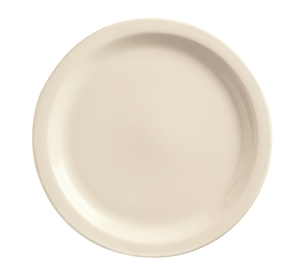 World Tableware Kingsmen Undecorated White Plate - 9 in.