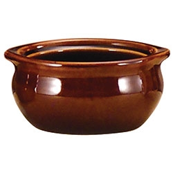 Brown Onion Soup Crock - 12 oz.