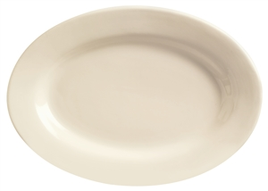 World Tableware Princess Undecorated White Platter - 9.38 in.