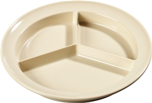 Carlisle Kingline 3 Compartment Plate 8.72 in.