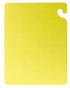 San Jamar Cut N Carry Cutting Board Yellow - 18 in. x 24 in. x 5 in.