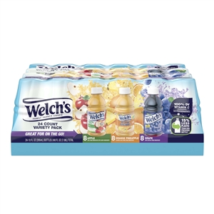 Welchs Variety Pack Apple Grape Orange Pineapple Drink - 10 Oz.