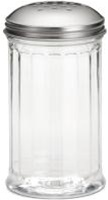 Tablecraft Stainless Steel Perforated Top Shaker - 12 Oz.